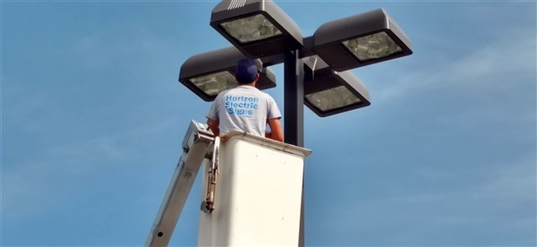 indoor-building-parking-pole-outdoor-light-repair & Horizon Electric Signs Company Repair Neon Custom Sign Install ... azcodes.com